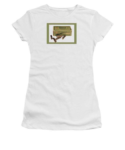 Cartridges For Rifle Women's T-Shirt (Junior Cut) by Susan Leggett