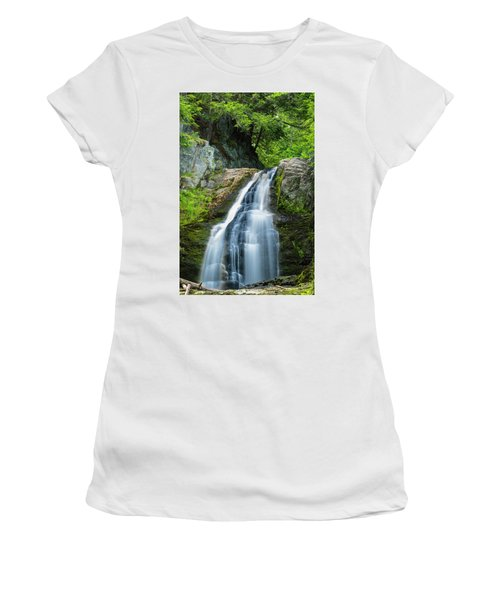 Cascade Falls In South Portland In Maine Women's T-Shirt
