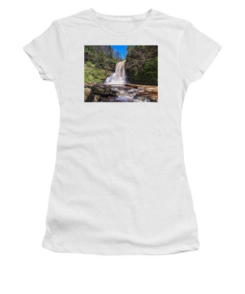 Cascade Falls In Spring Women's T-Shirt