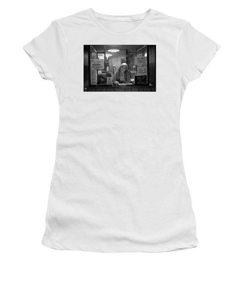 Cashier, Devon Theatre, 1979 Women's T-Shirt
