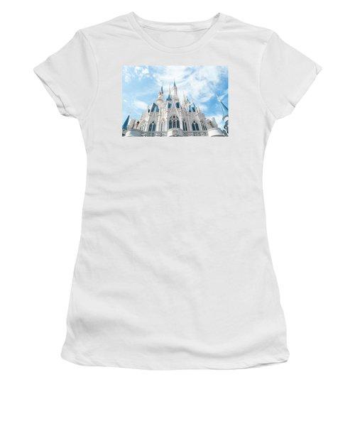 Castle Sky Women's T-Shirt (Athletic Fit)