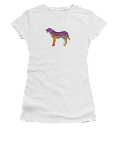 Castro Laboreiro Dog In Watercolor Women's T-Shirt