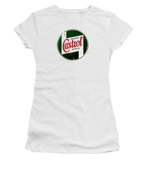 Castrol Motor Oil Women's T-Shirt