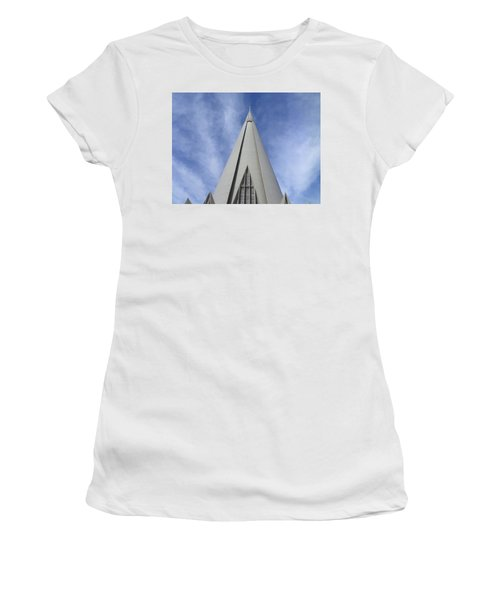 Cathedral Minor Basilica Our Lady Of Glory Women's T-Shirt (Junior Cut) by Bruna Lima