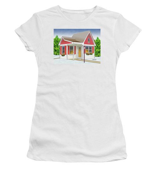 Catonsville Santa House Women's T-Shirt