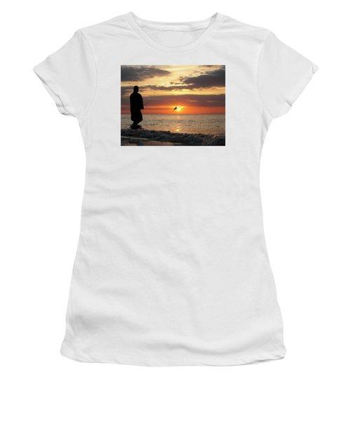 Caught At Sunset Women's T-Shirt