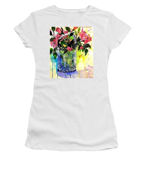 Cecile Brunner's Women's T-Shirt (Athletic Fit)