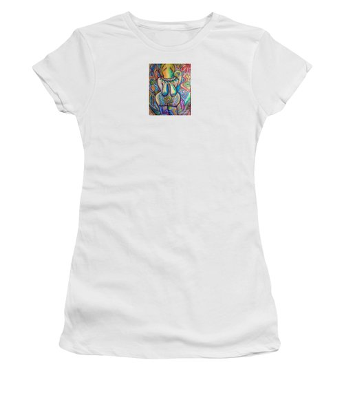 Celebrate The Feminine Power  Women's T-Shirt (Junior Cut) by Corina  Stupu Thomas