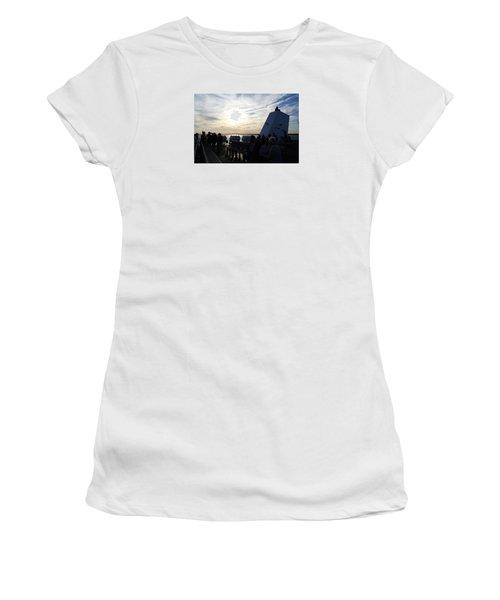 Celebrating The Sunset Women's T-Shirt (Junior Cut) by Margie Avellino