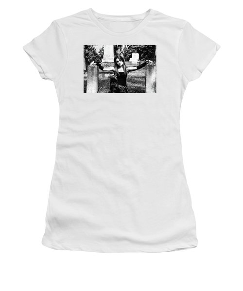 Cemetery Girl Women's T-Shirt (Athletic Fit)