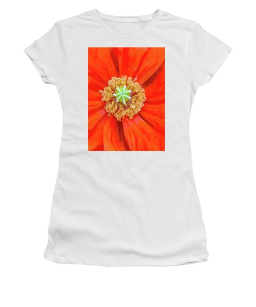 Center Of The Universe Women's T-Shirt (Athletic Fit)