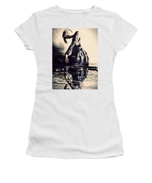 Cerebration Women's T-Shirt (Athletic Fit)