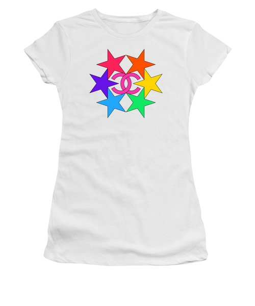 Chanel Stars-15 Women's T-Shirt
