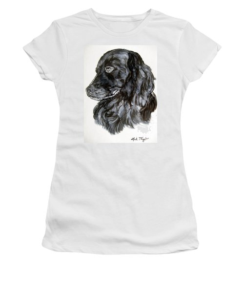 Charlie Women's T-Shirt (Junior Cut) by Lil Taylor