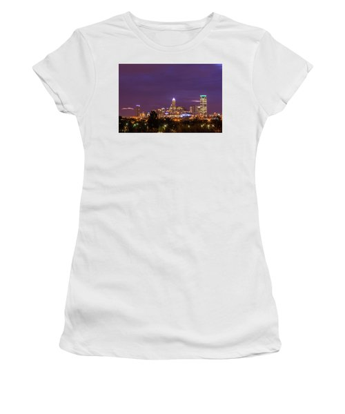 Charlotte, North Carolina Sunrise Women's T-Shirt (Athletic Fit)