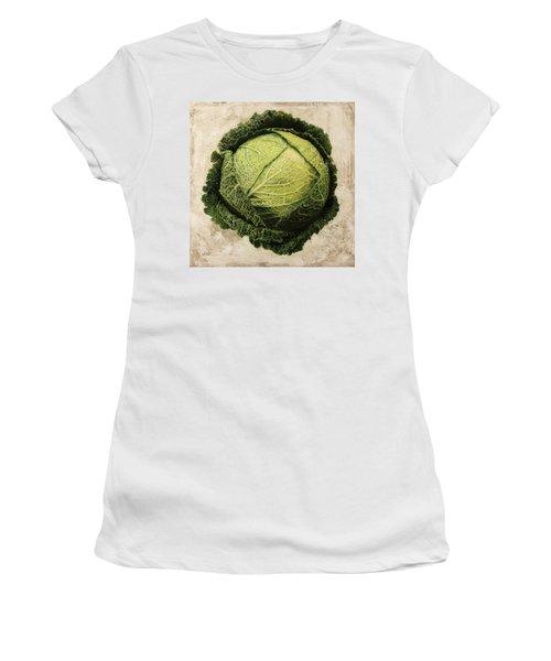 Checcavolo Women's T-Shirt (Junior Cut) by Danka Weitzen