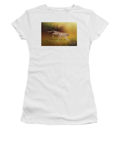 Cheetah Running Women's T-Shirt