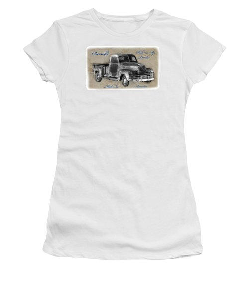 Chevy Pickup Truck T-shirt Women's T-Shirt (Athletic Fit)