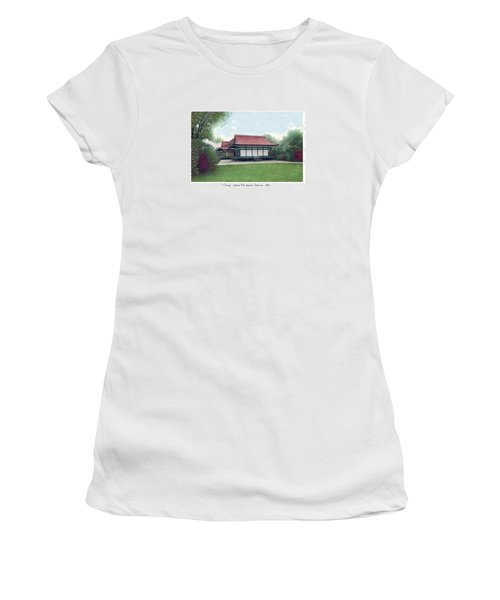 Chicago - Japanese Tea Houses - Jackson Park - 1912 Women's T-Shirt (Athletic Fit)
