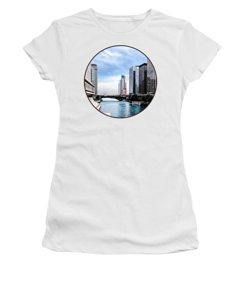 Chicago - View From Michigan Avenue Bridge Women's T-Shirt