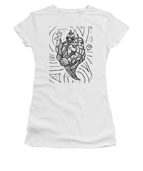 Chicken Master Women's T-Shirt (Athletic Fit)