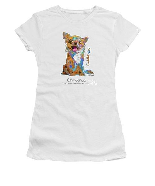 Chihuahua Pop Art Women's T-Shirt