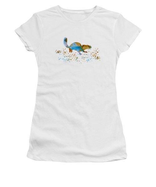 Chipmunk Women's T-Shirt (Junior Cut) by Mordax Furittus