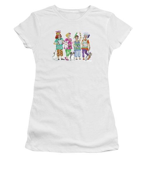 Chix Women's T-Shirt (Junior Cut) by Rosemary Aubut