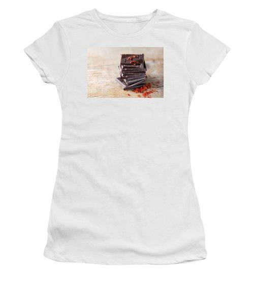 Chocolate And Chili Women's T-Shirt