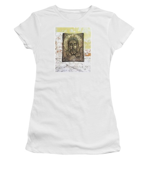 #christ #christians #religion #face Women's T-Shirt