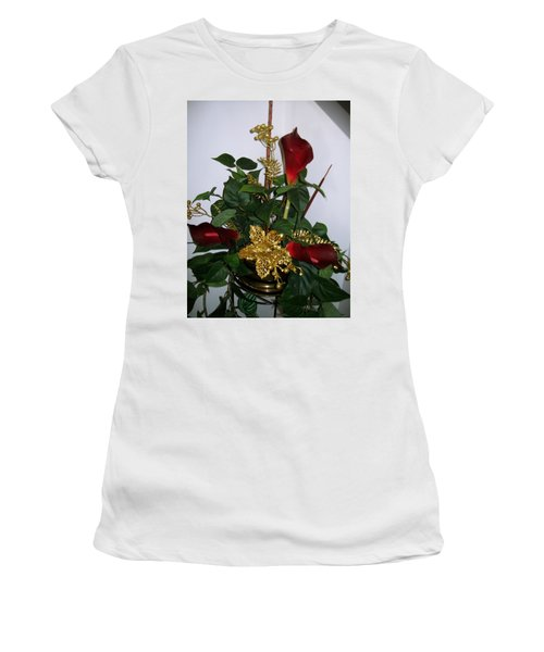Christmas Arrangemant Women's T-Shirt (Athletic Fit)