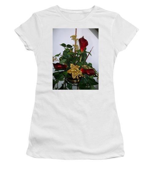Christmas Arrangemant Women's T-Shirt (Junior Cut)