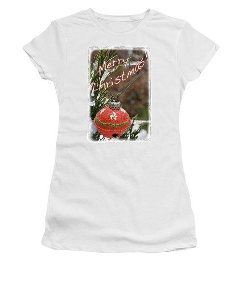 Christmas Bell Ornament Women's T-Shirt