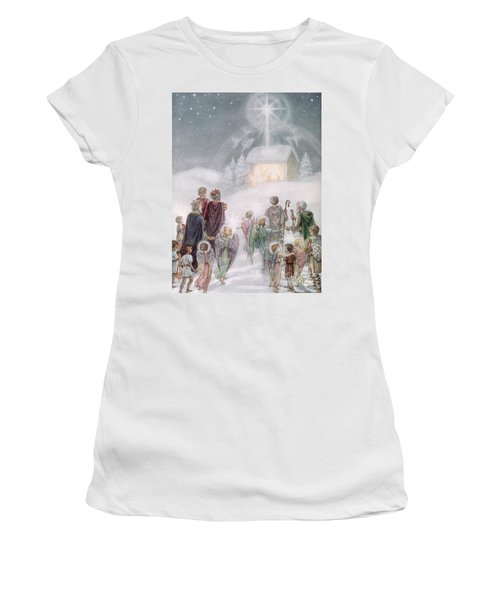 Christmas Card Women's T-Shirt
