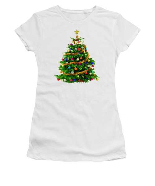 Christmas Tree 1417 Women's T-Shirt