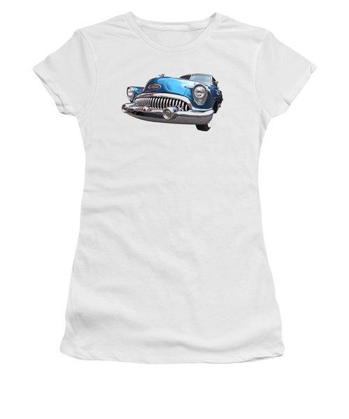 Chrome Heaven - Buick Riviera 1953 Women's T-Shirt