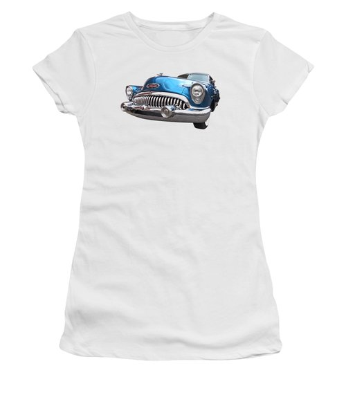 Chrome Heaven - Buick Riviera 1953 Women's T-Shirt