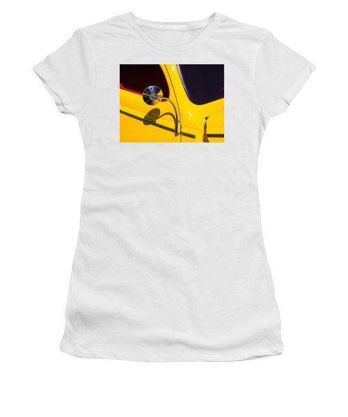 Chrome Mirrored To Yellow Women's T-Shirt