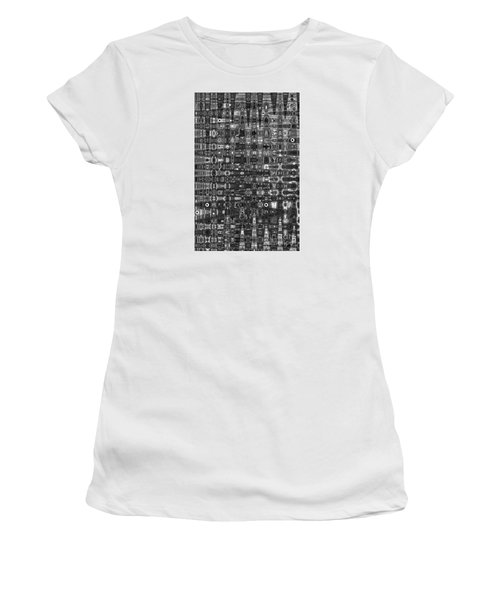 Chromosome 22 Bw Women's T-Shirt (Junior Cut) by Diane E Berry