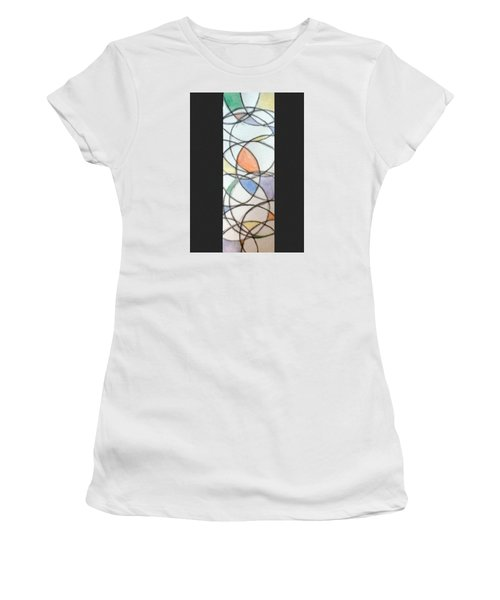 Church Glass Women's T-Shirt (Athletic Fit)