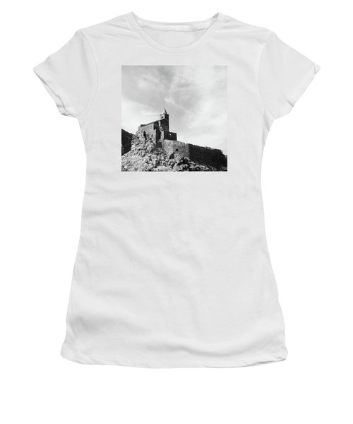 Church Of San Pietro II Women's T-Shirt (Junior Cut) by Joseph Westrupp