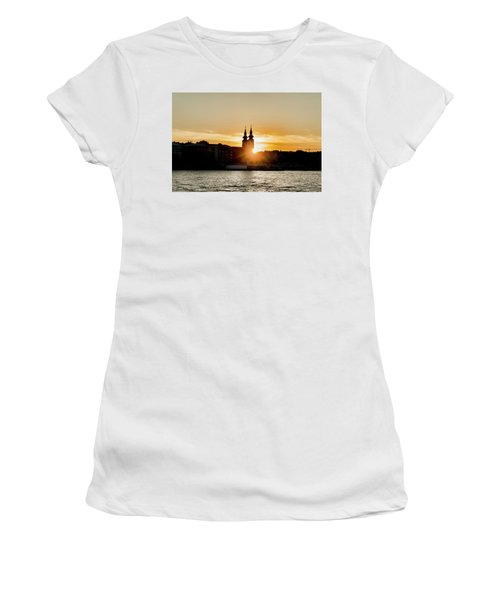 Church Tower Silhouette Women's T-Shirt