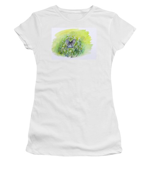 Cindy's Butterfly Women's T-Shirt (Junior Cut)
