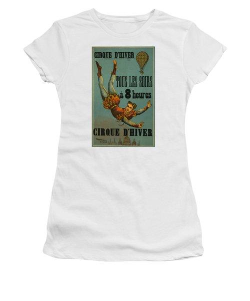 Cirque D'hiver Women's T-Shirt (Athletic Fit)