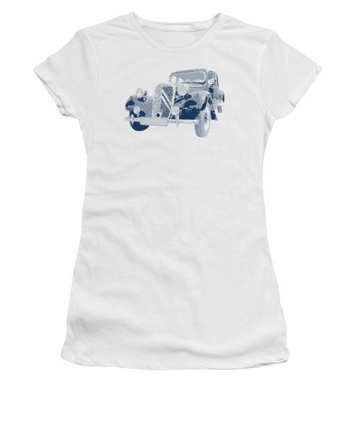 Citroen Traction Avant  - Parallel Hatching Women's T-Shirt (Athletic Fit)