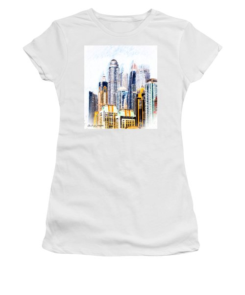 City Abstract Women's T-Shirt