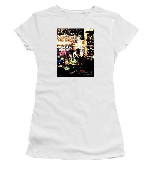 City Stroll Women's T-Shirt (Junior Cut) by Denise Tomasura