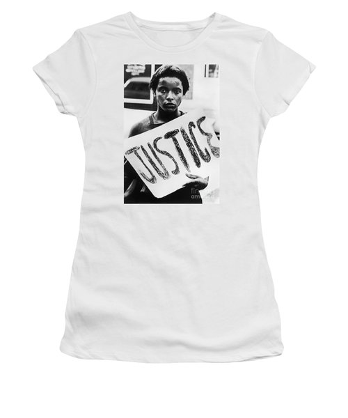 Women's T-Shirt featuring the photograph Civil Rights, 1961 by Granger