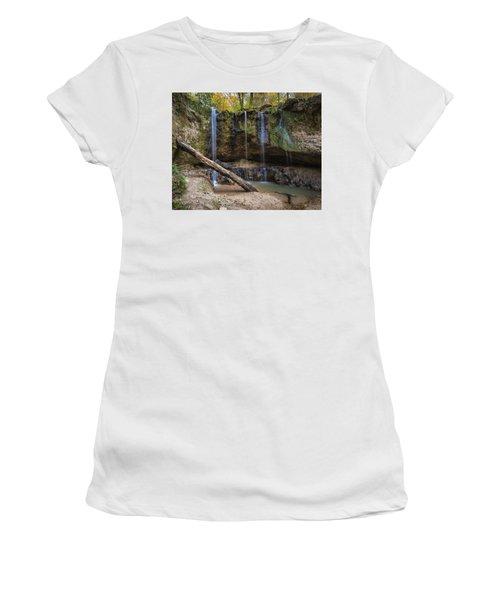 Clark Creek Waterfall No. 1 Women's T-Shirt
