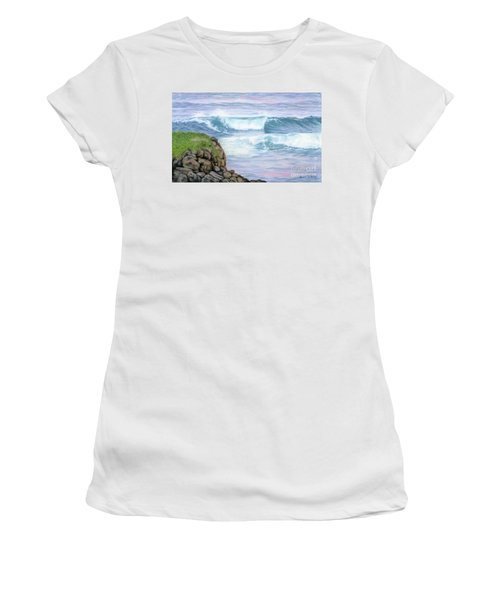 Cliff By The Sea Women's T-Shirt